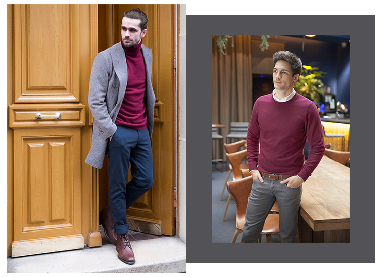 Comment porter le bordeaux ?   LePantalon   Blog